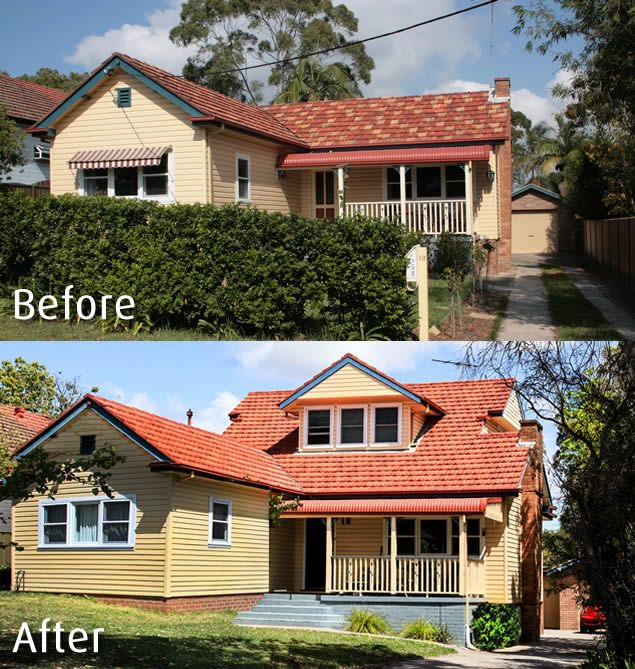 House Renovations Before After